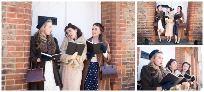 Brighton, brighton promo shoot, music promo shoot, The Victory Dolls, Brighton harmony group, 40s girl band, Laurenbythesea Photography, portrait photographer Sussex, portrait photographer Kent,  vintage style photo shoot, vintage clothes, To Be Worn Again Brighton, Kemp Town, Heart in hand pub